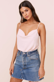 ASTR Cowl Bodysuit - Front cropped