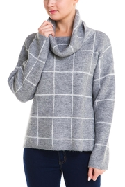Lumiere Cowl Checker Sweater - Product Mini Image