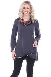Parsley & Sage Cowl Hi-Lo Tunic - Product Mini Image