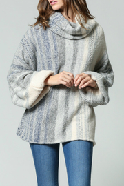 FATE by LFD Cowl Neck Balloon Slv Sweater - Product Mini Image