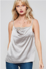 Promesa USA Cowl Neck Cami - Front cropped