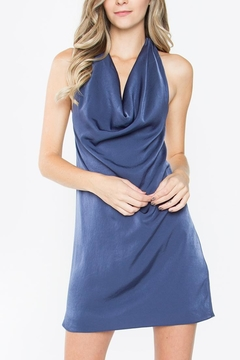 Sugarlips Cowl-Neck Halter Dress - Product List Image