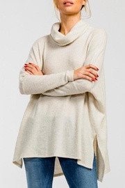 Cherish Cowl-Neck High-Low Top - Front cropped