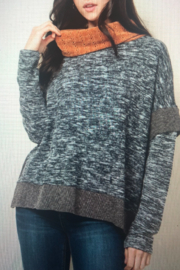 Thml COWL NECK KNIT TOP - Product Mini Image