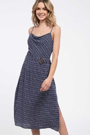 blu Pepper  Cowl Neck Midi Dress - Product Mini Image