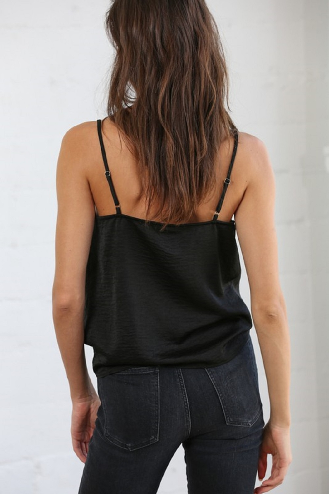By Together Cowl Neck Satin Cami - Front Full Image