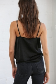 By Together Cowl Neck Satin Cami - Front full body