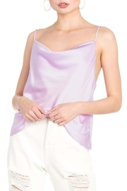 Dance & Marvel Cowl Neck Satin Cami - Front cropped