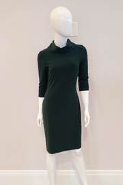 Joseph Ribkoff  Cowl Neck Sheath Dress, Emerald Green - Product Mini Image