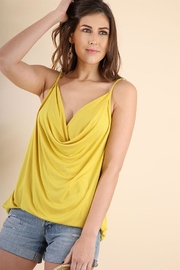Umgee USA Cowl Neck Spaghetti - Front cropped
