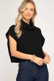 she+sky Cowl Neck Sweater - Product Mini Image