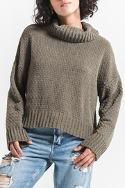 rag poets Cowl Neck Sweater - Product Mini Image