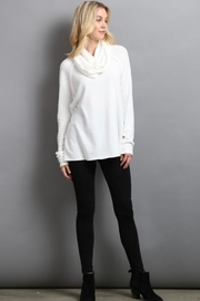My Beloved Cowl Neck Sweater - Front cropped