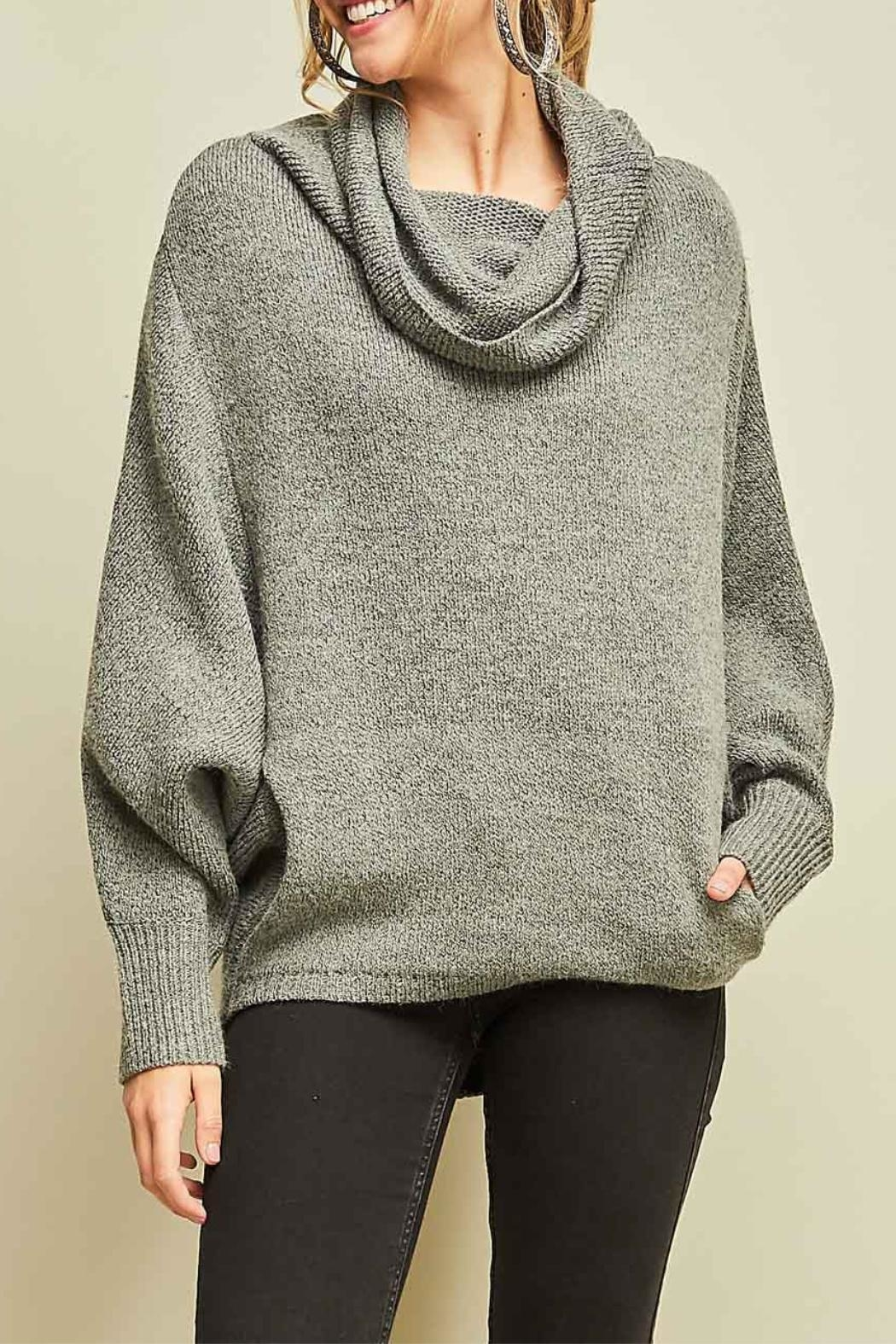 Entro Cowl Neck Sweater - Front Full Image