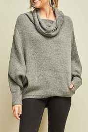 Entro Cowl Neck Sweater - Front full body