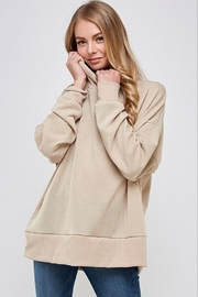 Caramela Cowl Neck Sweater - Front cropped