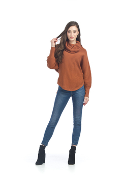 Papillon Eastern Imports Cowl neck sweater - Product List Image