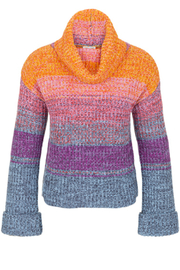 Tribal  Cowl Neck Sweater - Product Mini Image