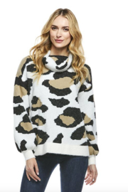 Fabulous Furs Cowl Neck Sweater - Side cropped