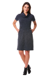 Neesha Cowl neck sweater dress - Product Mini Image