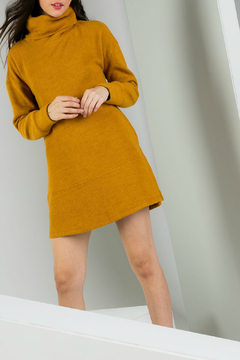 THML  Cowl Neck Sweater Dress - Product List Image