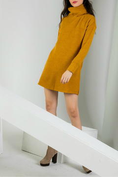 THML  Cowl Neck Sweater Dress - Alternate List Image