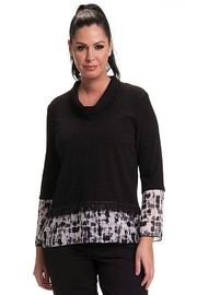 Bali Corp. Cowl Neck Sweater Top Bali 7111 - Product Mini Image