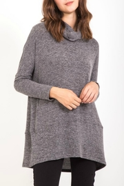 Very J Cowl Neck Sweater Tunic - Product Mini Image