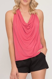 LuLu's Boutique Cowl Neck Tank - Product Mini Image