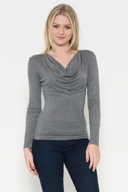 Heart & Hips Cowl Neck Top - Product Mini Image