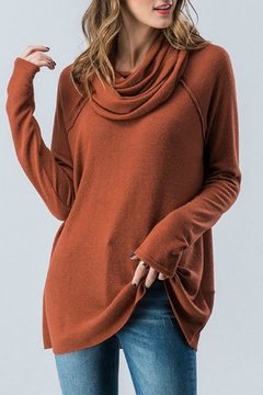 Trend:notes Cowl Neck Top - Alternate List Image