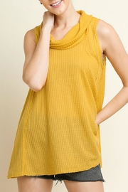 Umgee USA Cowl Neck Top - Product Mini Image