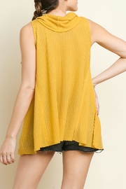 Umgee USA Cowl Neck Top - Side cropped