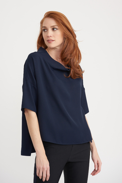 Joseph Ribkoff Cowl-Neck Top - Product List Image