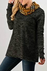 Trend:notes Cowl-Neck Tunic Top - Product Mini Image