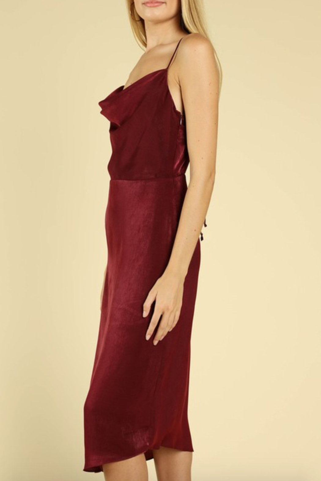 c59fd3a7e03f8 Honey Punch Cowl Slip Dress from Marina by y i clothing boutique ...