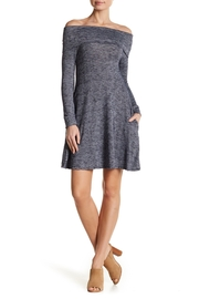 Elan Cowl Sweater Dress - Product Mini Image
