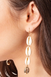 Gifted Cowrie Shell Earrings - Product Mini Image