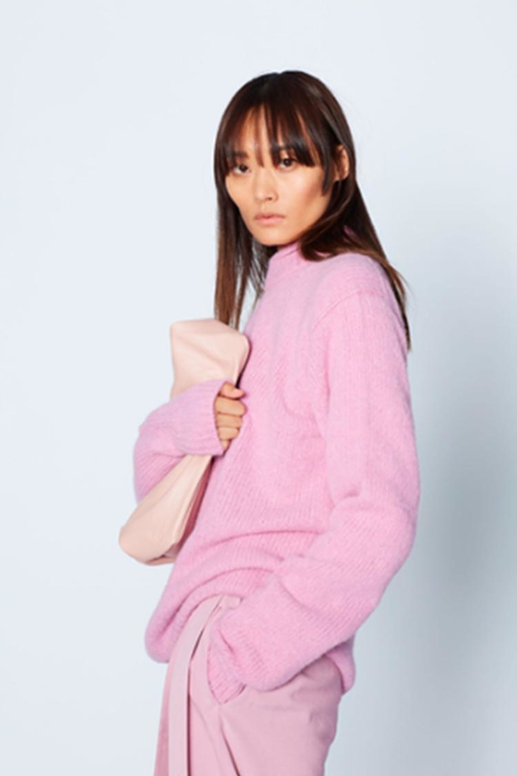 Tibi Cozette Pullover Sweater - Front Full Image