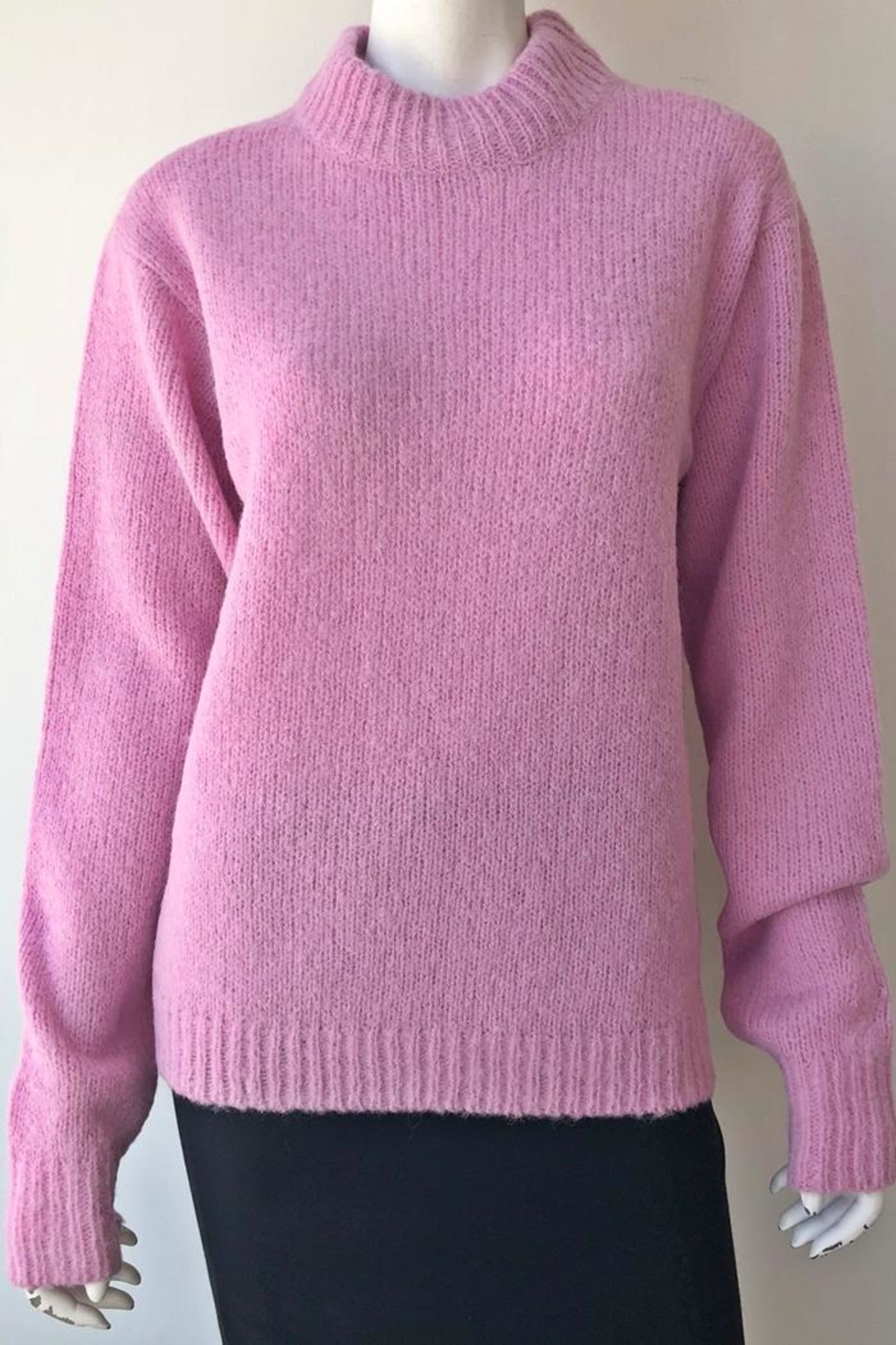 Tibi Cozette Pullover Sweater - Back Cropped Image