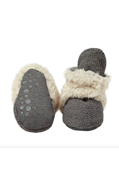 Shoptiques Product: Cozie Furry Gripper Bootie