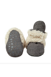 Zutano Cozie Furry Gripper Bootie - Product Mini Image
