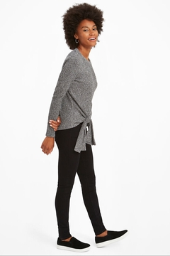 Nic + Zoe  Cozy Aside Tie Top - Product List Image