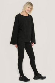 Hello Nite Cozy Brushed Top - Front cropped