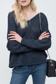 Blu Pepper Cozy Button-Up Sweater - Product Mini Image