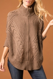 Simply Noelle Cozy Cabin Zip-Jacket - Front cropped