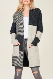 LuLu's Boutique Cozy Cardigan - Front cropped