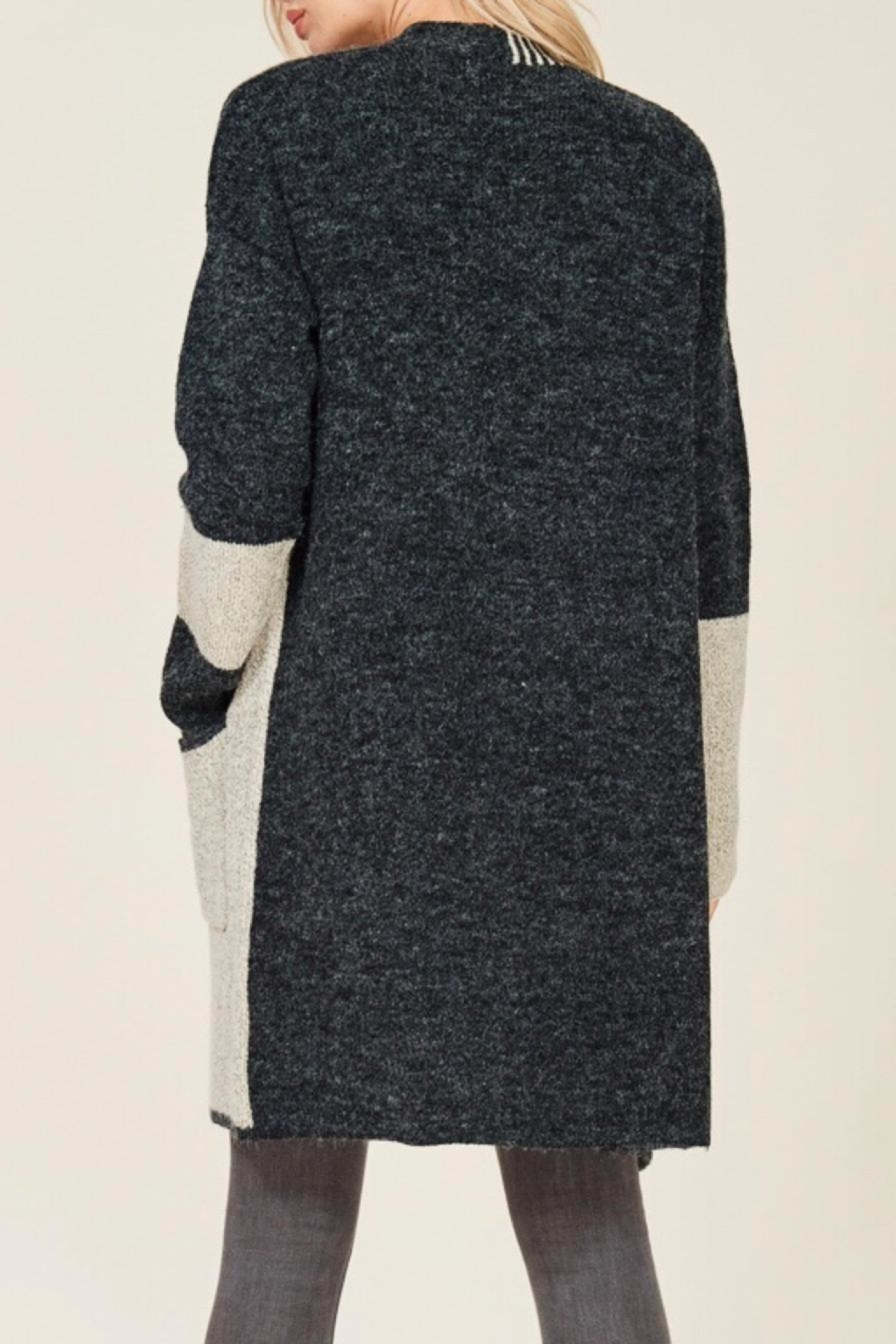LuLu's Boutique Cozy Cardigan - Side Cropped Image
