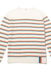 Kule Cozy Cashmere Stripe - Front cropped