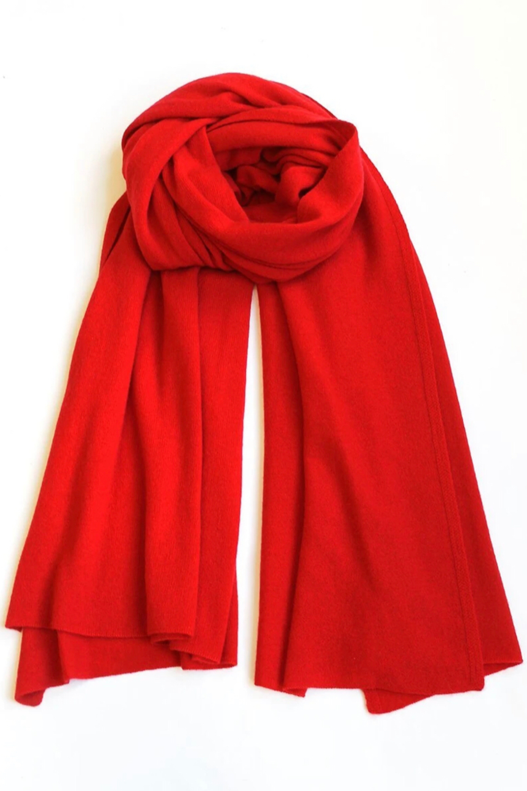 Tyler Boe Cozy Cashmere Wander Wrap - Front Cropped Image